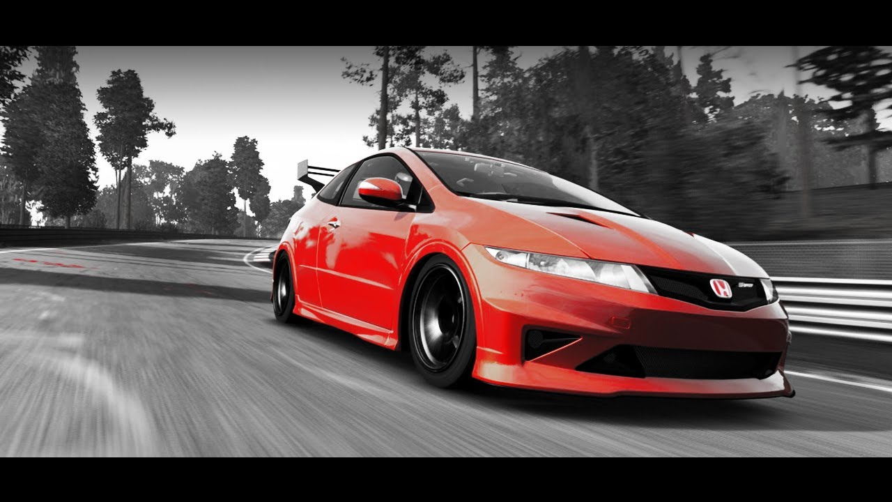2015 honda civic type r turbo vs nurburgring. Black Bedroom Furniture Sets. Home Design Ideas