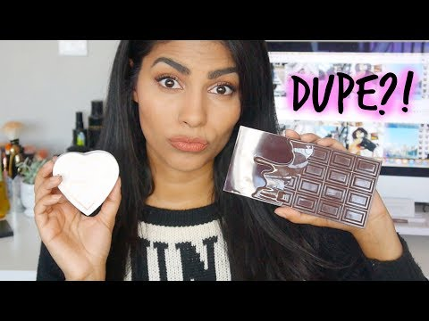 TRYING CHEAP MAKEUP by MAKEUP REVOLUTION: Is It a Dupe?!
