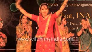 Giddha and Bhangra by Punjabi dancers from India