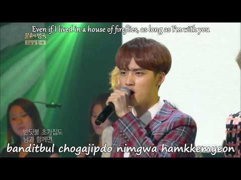[Romanized lyrics + engsub] EXO - With You 님과 함께 [Immortal Song 2]