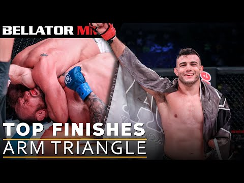 Top Finishes: Arm Triangles l BELLATOR MMA