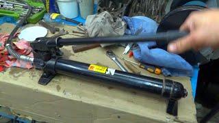 видео Гидравлический трубогиб своими руками: рекомендации