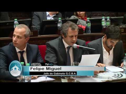 El Jefe de Gabinete, Felipe Miguel le responde a Adrián Camps
