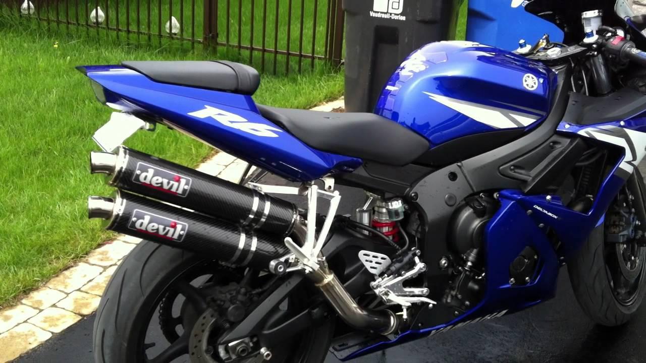 Yamaha R Muffler