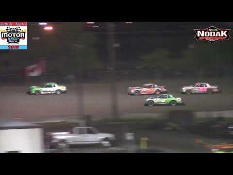 Nodak Speedway IMCA Hobby Stock A-Main (Motor Magic Night #2) (9/2/18)