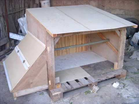 Un poulailler pas cher youtube for Construire un escalier exterieur en beton