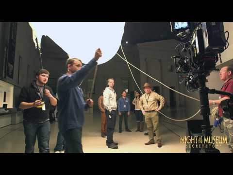 Night at the Museum: behind the scenes filming at the British Museum