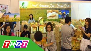 THDT - Gạo Cỏ May tham dự hội chợ thực phẩm Singapore