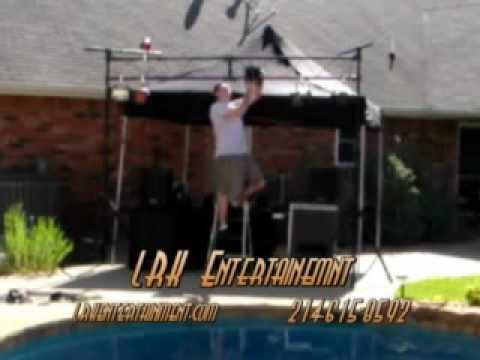LRK Entertainment Mobile DJ Equipment Setup.