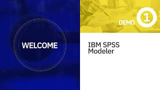 IBM SPSS Modeler Demo #1: Access Data - YouTube