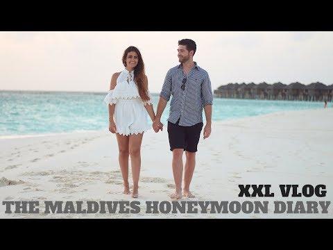 THE MALDIVES XXL VLOG I WATER BUNGALOW TOUR I HONEYMOON TRAVEL DIARY I ALEYASMINE