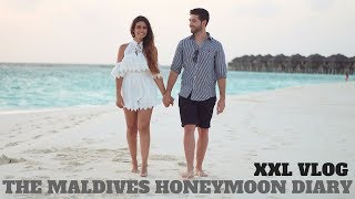 THE MALDIVES XXL VLOG I WATER BUNGALOW TOUR I HONEYMOON TRAVEL DIARY I ALEYASMINE