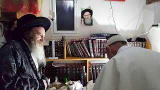 """פגישת הרב דב קוק עם הרב מורגנשטרן ר""""ח חשון תשע""""ז"""