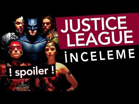 "JUSTICE LEAGUE - Spoiler'lı İnceleme - ""Can Sungur Bir Şeyi De Beğendi!"""