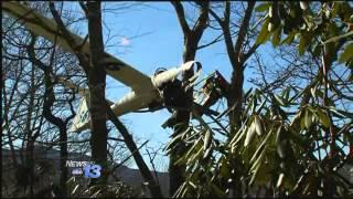 Glider Crash Near Mt. Mitchell