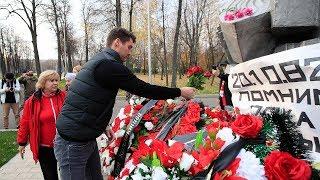 Скачать Спартаковцы почтили память жертв трагедии в Лужниках