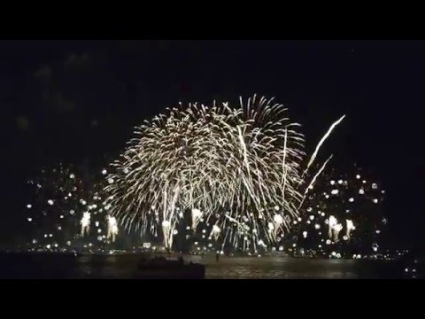 2016 Australia Day, Perth CBD full fireworks show - 26.01.2016 (no sound)