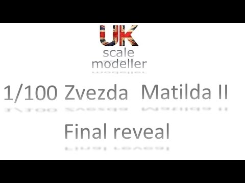 Build 014 - 1/100 Matilda II Final reveal (Nigel Well