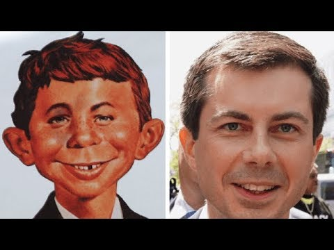 Trump compares Pete Buttigieg to Alfred E. Neuman of MAD. Mayor says he had to Google it