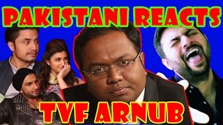 Pakistani Reacts to TVF's Barely Speaking With Arnub