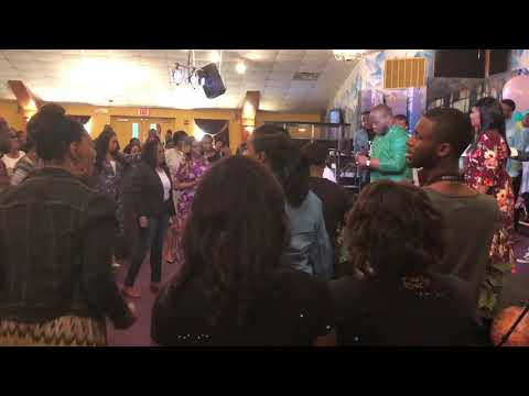 Crazy Praise Break at The Harvest Tabernacle Church!!! 4/29/18