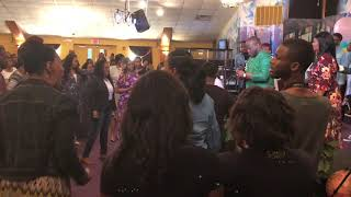 Crazy Praise Break at The Harvest Tabernacle Church!!! 4/29/18