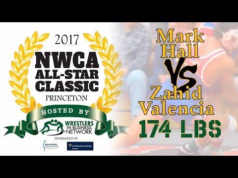 2017 NWCA All Star Classic - 174 - Mark Hall vs Zahid Valencia