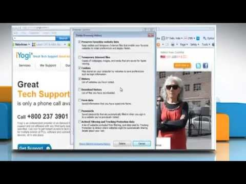 Internet Explorer® 9: How To Delete Temporary Internet Files On Windows® Vista?