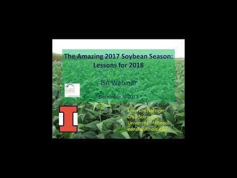 The Amazing 2017 Soybean Season: Lessons for 2018