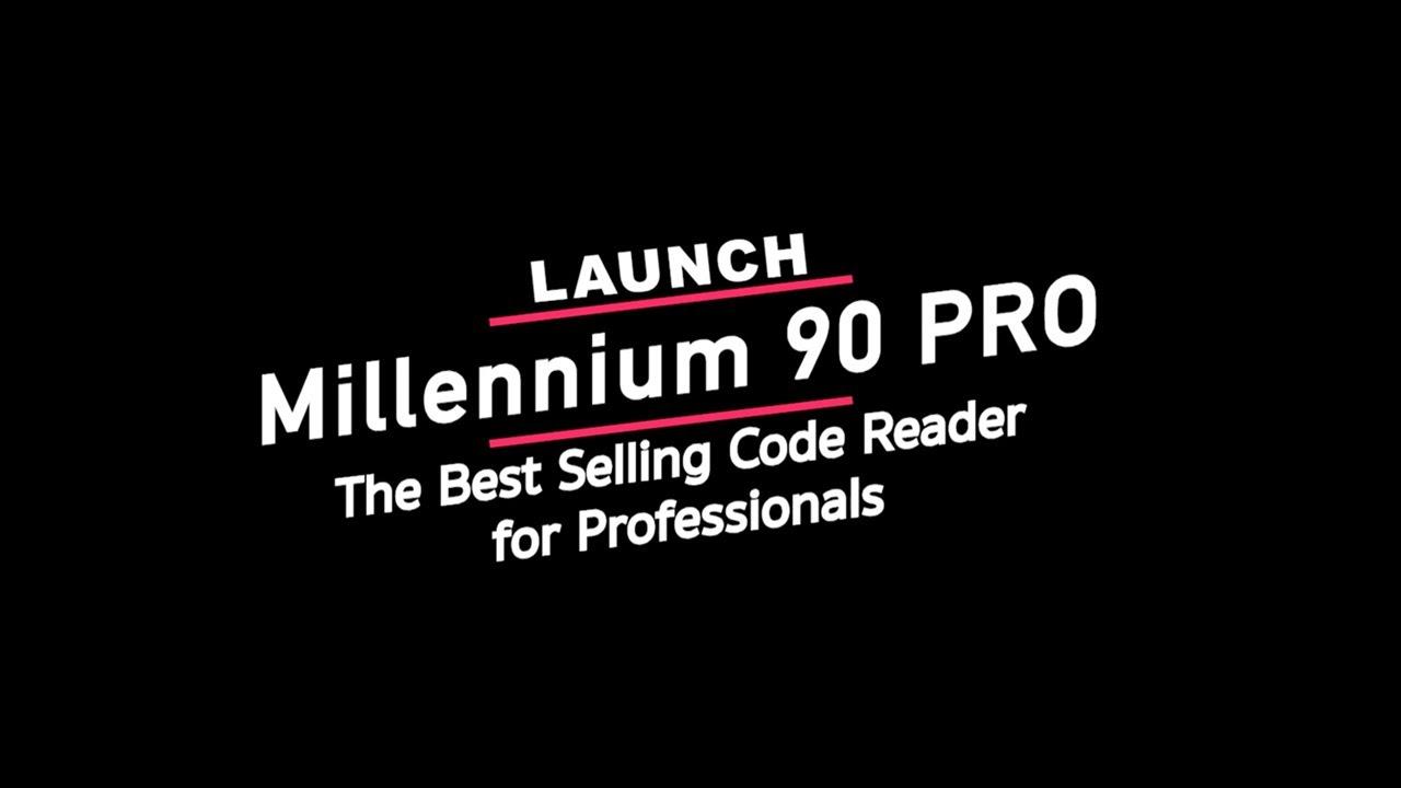 millennium 40 obdii/eobd code reader