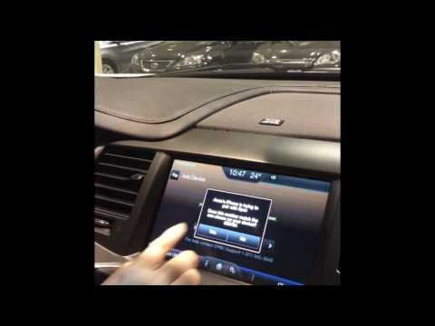 How To Connect Bluetooth To 2013 Lincoln MKS With Navigation
