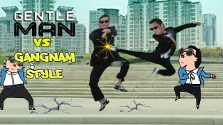 PSY(싸이)GENTLEMAN VS GANGNAM STYLE(강남스타일)PARODY VIDEO(젠틀맨)