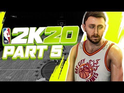 "NBA 2K20 MyCareer: Gameplay Walkthrough - Part 5 ""Drafted!"" (My Player Career)"