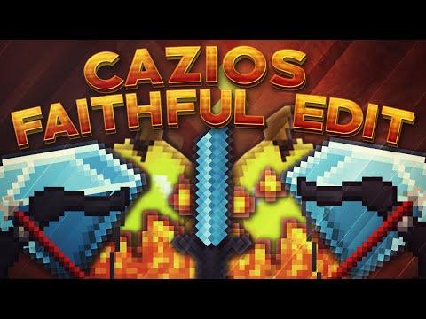 Minecraft PvP Texture Pack: CAZIOS FAITHFUL EDIT! (1.7-1.8)