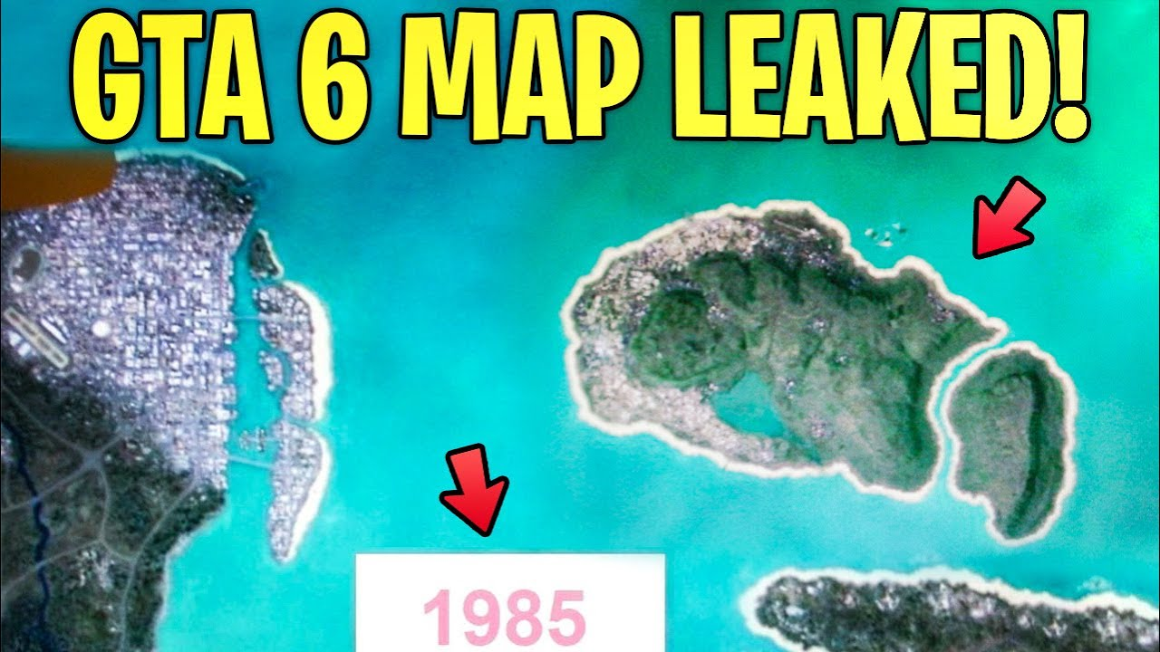 Possible GTA 6 Full Map LEAKED By Anonymous Gaming Insider (Vice City)