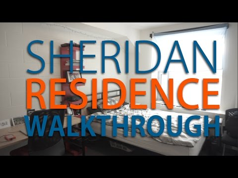 Sheridan College Residence Room Tour (2017)
