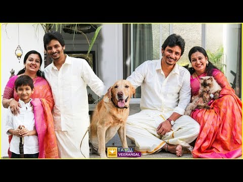 Jiiva Family Photos | Actor Jiiva Father, Mother, Wife, Son & Family Photos