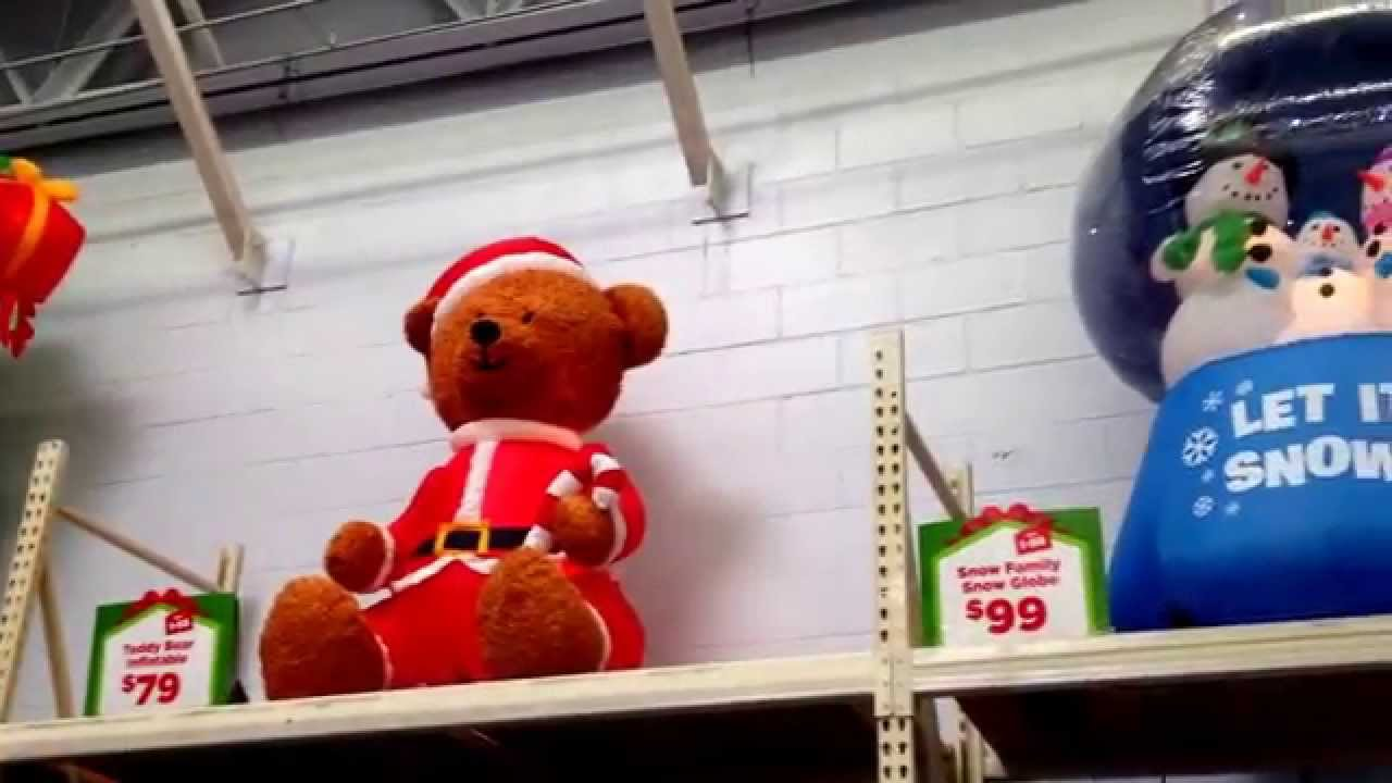 walmart is getting ready for christmas walmart youtube - Christmas Inflatables At Walmart