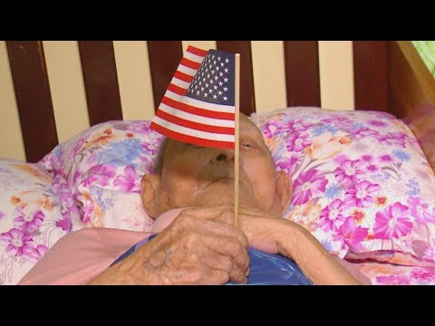 100-Year-Old Refugee Becomes U.S. Citizen