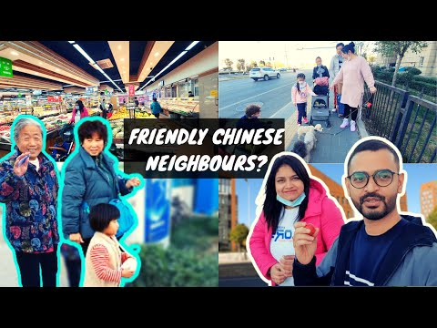 Are chinese Neighbours Friendly? | SuperMarket in Beijing | Indians Grocery | China Beijing Vlog