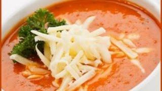 Турецкий Томатный суп с сыром. Турецкая кухня. Kremalı domates çorbası nasıl yapılır