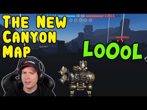 LO0OL! The New CANYON MAP 🤣 War Robots Fun Gameplay WR