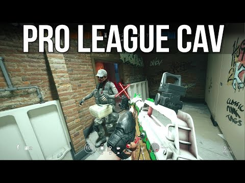 When Pros Use Cav - Rainbow Six Siege Pro League Tips & Tricks