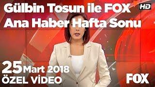 Kanala uçan otomobil, 5 gence mezar oldu! 25 Mart 2018 Gülbin Tosun ile FOX Ana Haber Hafta Sonu