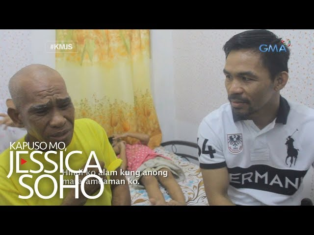 Kapuso Mo, Jessica Soho: Mamang sorbetero, nakatanggap ng house and lot mula kay Pacman
