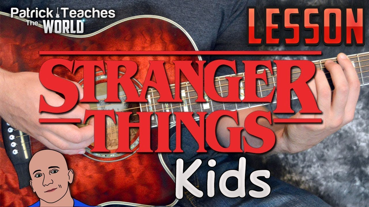 Stranger Things Kids Guitar Lesson Tutorial How To Play Tabs Play