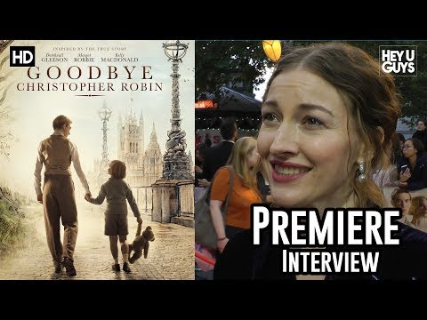 Kelly Macdonald  Goodbye Christopher Robin Premiere