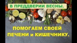 Помогаем своей ПЕЧЕНИ и КИШЕЧНИКУ.  Алена Дмитриева.