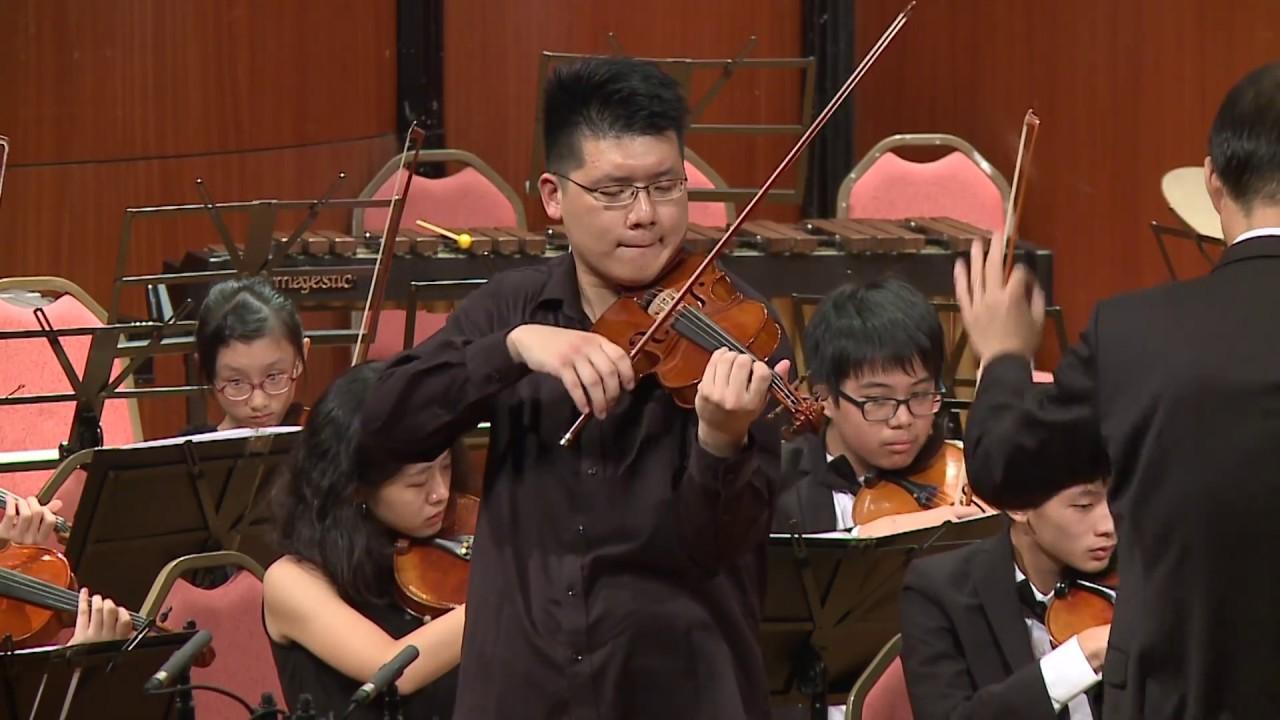 大豐管弦樂團《浪漫琴緣》孟德爾頌 e小調小提琴協奏曲第二樂章_Mendelssohn Violin Concerto e minor OP.64- 2nd mov--梁 ...