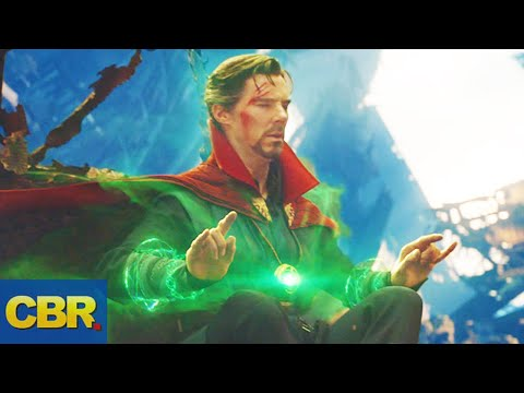 Doctor Strange Spent Nearly 5000 Years Looking Through Time In Avengers Infinity War